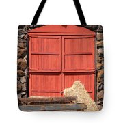 Jack London Stallion Barn 5D22103 Tote Bag by Wingsdomain Art and Photography