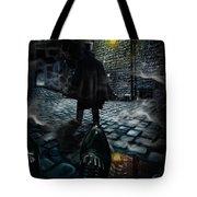 Jack The Ripper Tote Bag by Alessandro Della Pietra