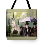 Jackson Square Tote Bag by Rob Peters