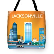 Jacksonville Tote Bag by Karen Young