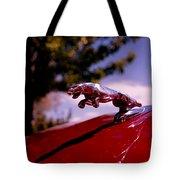 Jaguar Tote Bag by Rona Black