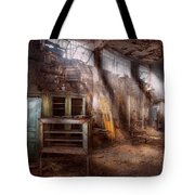 Jail - Eastern State Penitentiary - Sick Bay Tote Bag by Mike Savad