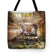 Jail - Eastern State Penitentiary - The Mess Hall  Tote Bag by Mike Savad