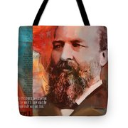 James A. Garfield Tote Bag by Corporate Art Task Force
