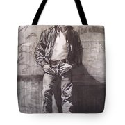 James Dean Tote Bag by Sean Connolly