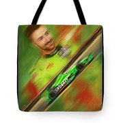 James Hinchcliffe Tote Bag by Blake Richards
