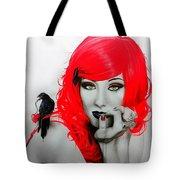 Jamie Stokes Tote Bag by Christian Chapman Art