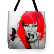 Jamie Stokes Tote Bag by Christian Chapman Art