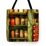 Jars - Ingredients II Tote Bag by Mike Savad