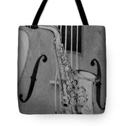 Jazz Is The Color Tote Bag by Laurisa Borlovan