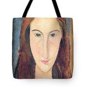 Jeanne Hebuterne Tote Bag by Amedeo Modigliani