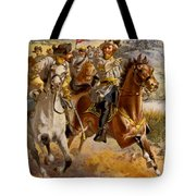 Jeb Stuart Civil War Tote Bag by Henry Alexander Ogden