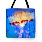 Jellyfish 3 Tote Bag by Dawn Eshelman