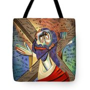 Jesus Tote Bag by Anthony Falbo