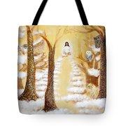Jesus Art - The Christ Childs Asleep Tote Bag by Ashleigh Dyan Bayer