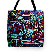 Jesus Christ - King Of Peace Tote Bag by Gloria Ssali