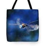Jet Blue Tote Bag by Donna Kennedy