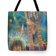 Jimmy Page Tote Bag by To-Tam Gerwe