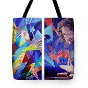 Joel and Andy Tote Bag by Joshua Morton