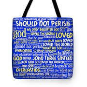 John 3-16 20130622 Tote Bag by Wingsdomain Art and Photography