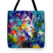 John Lennon 3 Tote Bag by MB Art factory