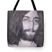 John Lennon Tote Bag by Donna Wilson