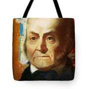John Quincy Adams Tote Bag by Corporate Art Task Force