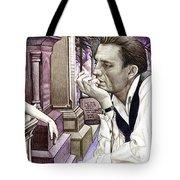 Johnny Cash-hurt Tote Bag by Joshua Morton