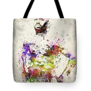 Jon Jones Tote Bag by Aged Pixel
