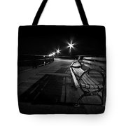 Journey Into Darkness Tote Bag by Evelina Kremsdorf