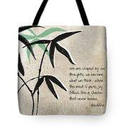 Joy Tote Bag by Linda Woods