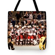 Joy Of Victory Agony Of Defeat Tote Bag by Karol Livote