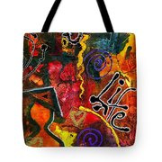 Joyfully Living Life Anew Tote Bag by Angela L Walker