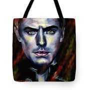 Jude Law Tote Bag by Francoise Dugourd-Caput