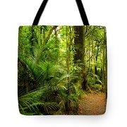 Jungle Scene Tote Bag by Les Cunliffe