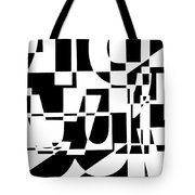 Junk Mail Tote Bag by Elena Nosyreva