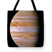 Jupiter And The Spot Tote Bag by Benjamin Yeager