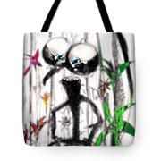 Just Amazed Tote Bag by Marcello Cicchini