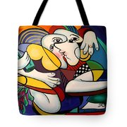 Just Engaged Tote Bag by Anthony Falbo
