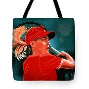 Justine Henin  Tote Bag by Paul Meijering