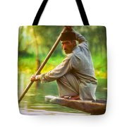 Kashmir Dream Impasto Tote Bag by Steve Harrington