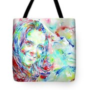 Kate Middleton Portrait.1 Tote Bag by Fabrizio Cassetta