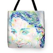 Kate Middleton Portrait.2 Tote Bag by Fabrizio Cassetta