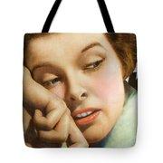 Kathryn Hepburn Tote Bag by Studio Artist