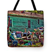 Katrina Memory Tote Bag by Steve Harrington