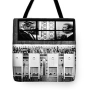 Keep Drinking Men  Palm Springs Tote Bag by William Dey