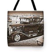 Keep Off My Car Tote Bag by Bobbee Rickard