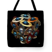 Kepler's Dream Tote Bag by Manny Lorenzo