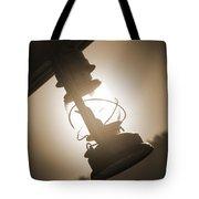 Kerosene Lantern Tote Bag by Mike McGlothlen