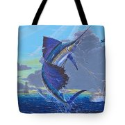 Key Sail Off0040 Tote Bag by Carey Chen